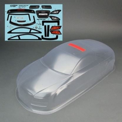Picture of Thunder Tiger PD8264 Audi Coupe Body Clear w/decal 190mm Licensed