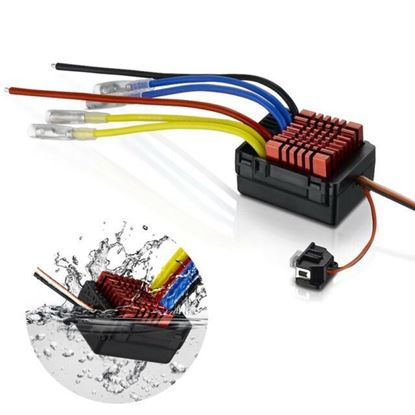 Picture of Hobbywing 30120301 QuicRun 880 Waterproof Dual Brushed Crawling ESC