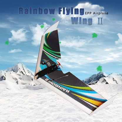 Picture of Dancing Wings E0604 Rainbow Flying Wing II 1000mm