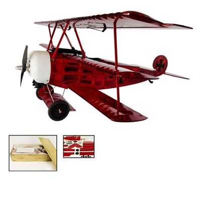 Picture of Dancing Wings S1714 Triplane Fokker DR1 770mm ARF Balsa Kit