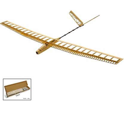 Picture of Dancing Wings F1401 Electric F14 Glider Uzi Laser Cut Kit 1400mm