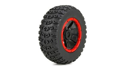Picture of TLR/LOSI LOS45004 Left & Right Tire (1ea), Premounted: 1:5 4wd DB XL