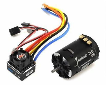 Picture of Hobbywing 38020239 COMBO-XR10-JS2 10.5T G2.1 Black