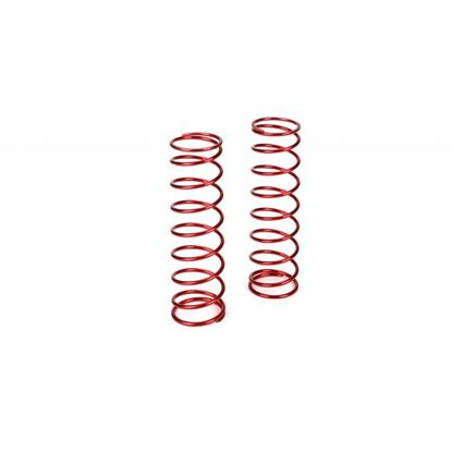 Picture of TLR/LOSI LOSB2971 Rear Springs 9.3lb. Rate, Red (2): 5-T