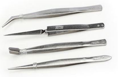 Picture of Excel Tools EXC30416 Tweezer Set in Pouch (4 pieces)