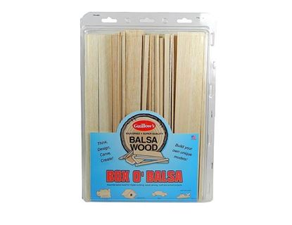 Picture of Guillows GUI0015 Box 'O Balsa (Large Random Sizes)