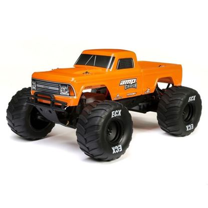 Picture of EXC ECX03048T2 1/10 Amp Crush 2WD Monster Truck Brushed RTR, Orange