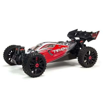 Picture of Arrma ARA102722 1/8 TYPHON 4X4 3S BLX RTR Speed Buggy Red