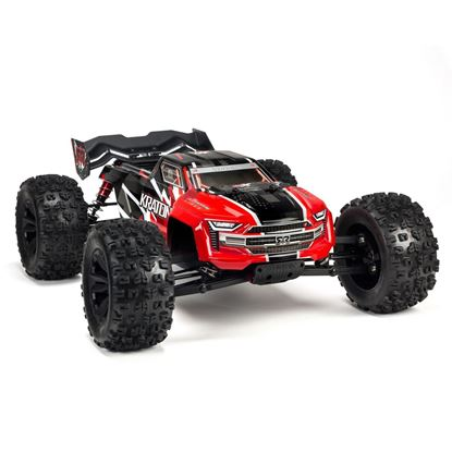 Picture of Kraton ARA106040T1 1/8 6S BLX 4WD Brushless Speed Monster Truck with Spektrum RTR, Red