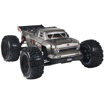 Picture of Arrma ARA106042T1 1/8 Outcast Monster Stunt Truck 6S BLX 4WD Silver RTR