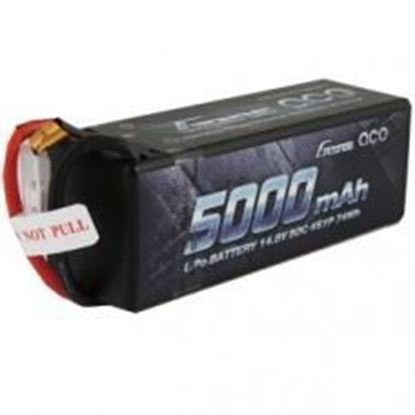 Picture of Gens Ace 4S 5000mah 50C Lipo Battery W/EC5 Plug