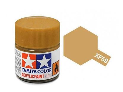 Picture of Tamiya  XF-59 Acrylic 10ML Desert Yellow