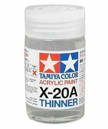 Picture of Tamiya 81030 X20A THINNERS 46ML ACRYLIC