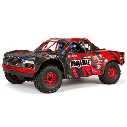 Picture of Arrma ARA106058T2 Mojave 6S BLX 1/7TH Scale Desert Racer Black/Red