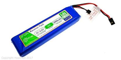 Picture of Hyperion HP-FG520-3800-2S G5 Receiver Pack 2S 3800mAh LiFePo4