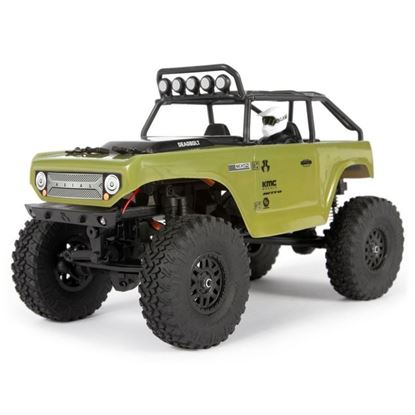 Picture of Axial AXI90081T2 1/24 SCX24 Deadbolt 4WD Rock Crawler Brushed RTR, Green