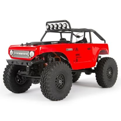 Picture of Axial AXI90081T1 1/24 SCX24 Deadbolt 4WD Rock Crawler Brushed RTR, Red