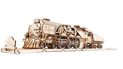 Picture of UGEARS 120853 V-Express Steam Train with Tender