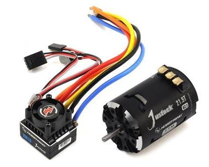 Picture of Hobbywing 38020242 COMBO-XR10-JS6 21.5T G2.1 Black