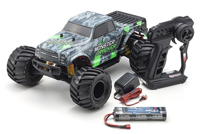 Picture of Kyosho 30043T1B 1/10 EP RS 2WD Monster Tracker (Green)