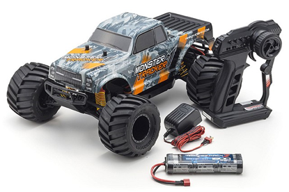 Picture of Kyosho 30043T2B 1/10 EP RS 2WD Monster Tracker (Orange)