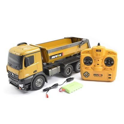 Picture of Huina Toys 1573 2.4G 10ch RC Die-cast Dump Truck 1/14 scale