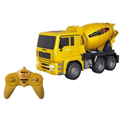 Picture of Huina 1333 2.4G 6CH RC Concrete Mixer 1/18 scale