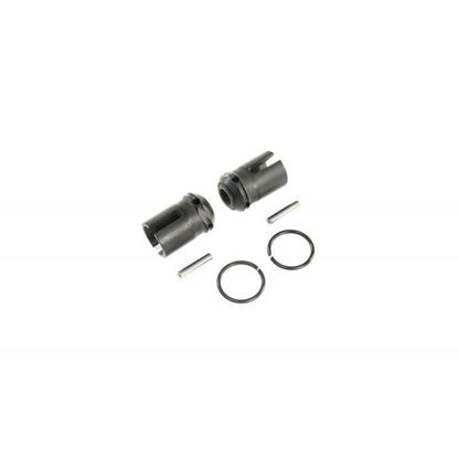 Picture of LOSI/TLR LOS252090 F/R Center Drive Dogbone Coupler (2): 5ive-T 2.0