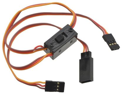 Picture of Fusesw-13 Small Receiver Power Switch with charge lead