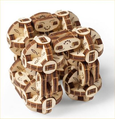 Picture of UGEARS 120747 Flexi-Cubus