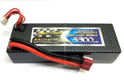 Picture of Giant Power 11.1v 3s 5500mAh 65c Hardcase Lipo