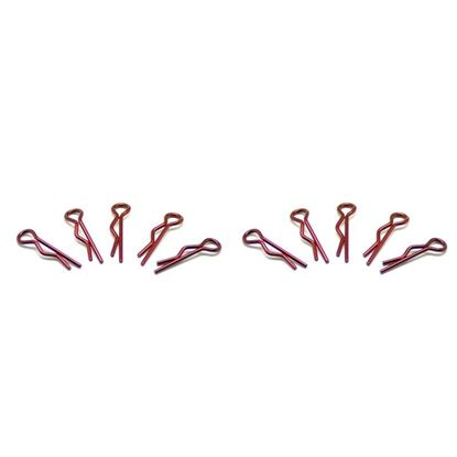 Picture of Arrowmax AM-103106 Small Body Clip 1/10 - Metallic Red (10)