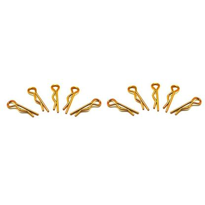 Picture of Arrowmax AM-103101 Small Body Clip 1/10 -Gold (10)