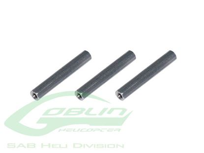 Picture of SAB H0216-S ALUMINUM SPACER 28MM - GOBLIN 500/570
