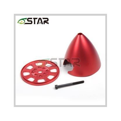Picture of 6Star DSP300-R 3in/76mm Special Drilled CNC Ali- Red