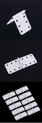 Picture of FP3060-D 10pcs* Nylon Pinned Hinges W12XL24mm