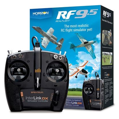 Picture of RealFlight RFL1200 9.5 Flight Simulator with Interlink Controller (Replaces RFL1100)