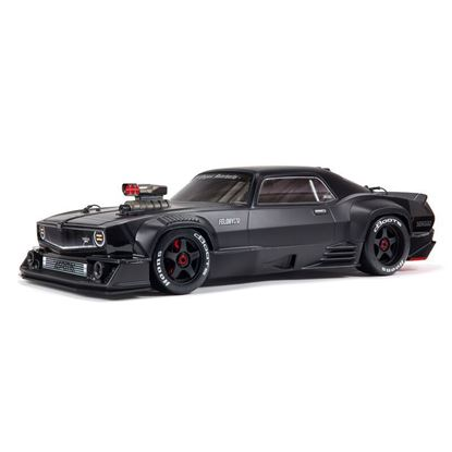 Picture of Arrma ARA7617V2T1 1/7 FELONY 6S BLX Street Bash All-Road Muscle Car RTR, Black