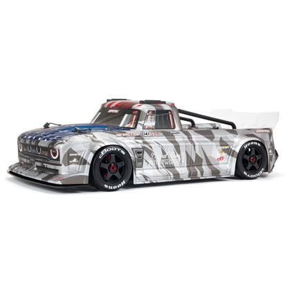 Picture of Arrma ARA7615V2T2 1/7 INFRACTION 6S BLX All-Road Truck RTR, Silver With Handbrake