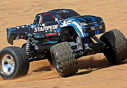 Picture of Traxxas 36054-1 Stampede XL5 Monster Truck RTR- Blue