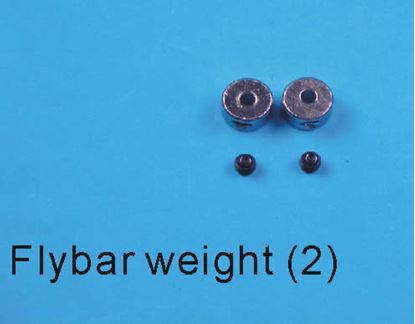 Picture of E-Sky EK1-0269/000238 Fly Bar Weights