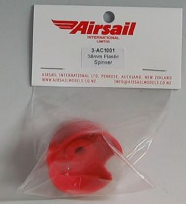 Picture of Airsail 3-ac1001 38mm Plastic Spinner (BLACK)