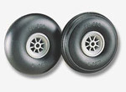 "Picture of Du-Bro 175T Du-Bro 1-3/4"" Dia. Treaded Surface Wheels (2)"