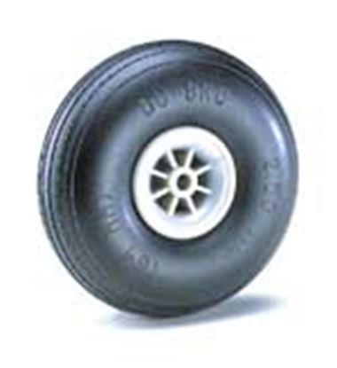 "Picture of Du-Bro 275TL 2-3/4"" Dia. Treaded Lightweight Wheel (2)"