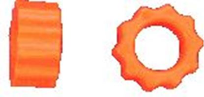 Picture of KBDD 4104 Orange 3D Extreme Dampeners For 600 Size Helis