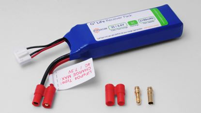 Picture of Hyperion HP-FG305-2100-2S Receiver Battery LiFePO4 6.6V 2100mAh