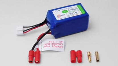 Picture of Hyperion HP-FG305-1700-2S Receiver Battery LiFePO4 6.6V 1700mAh