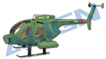 Picture of KZ0820113A 450 Scale Fuselage 500D