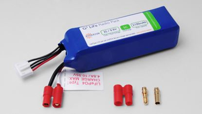 Picture of Hyperion HP-FG305-2100-3S Transmitter Battery LiFePO4 9.9V 2100m