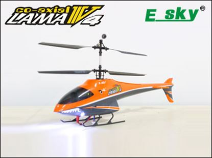 Picture of E-Sky 000146 Lama V4 2.4G RTF Helicopter - Orange